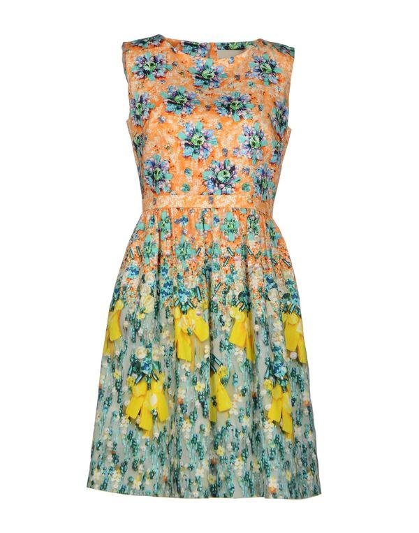 橙色 MARY KATRANTZOU 短款连衣裙