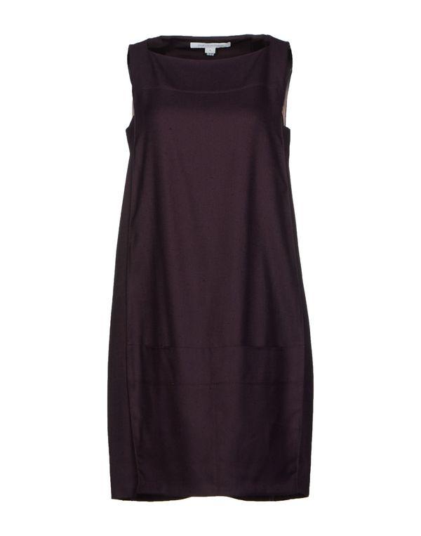 深紫 DIANE VON FURSTENBERG 短款连衣裙