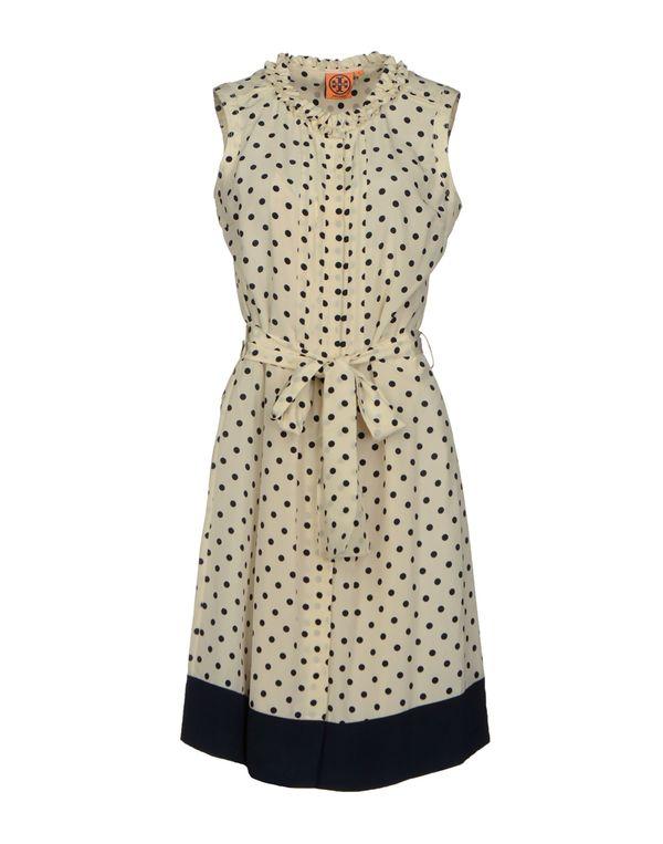 白色 TORY BURCH 短款连衣裙
