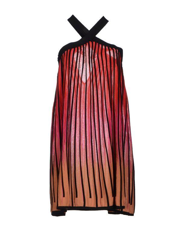 红色 M MISSONI 短款连衣裙