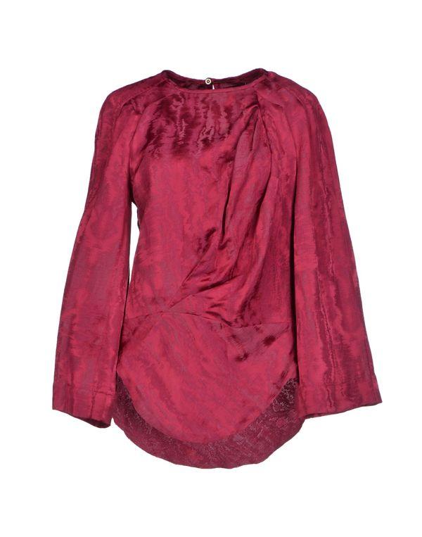 石榴红 ISABEL MARANT 女士衬衫