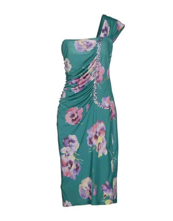 孔雀绿 BLUGIRL BLUMARINE 及膝连衣裙