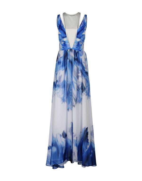 蓝色 JUST CAVALLI 长款连衣裙
