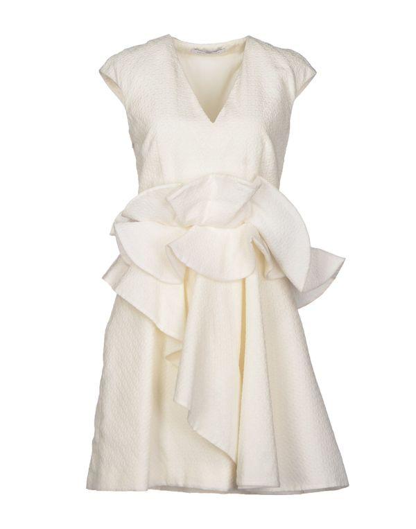 白色 VIKTOR & ROLF 短款连衣裙