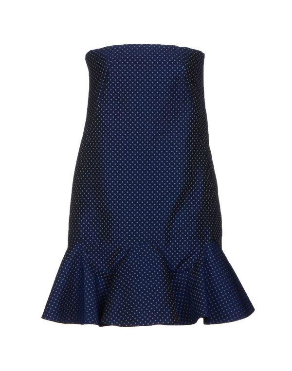 深藏青 VIKTOR & ROLF 短款连衣裙