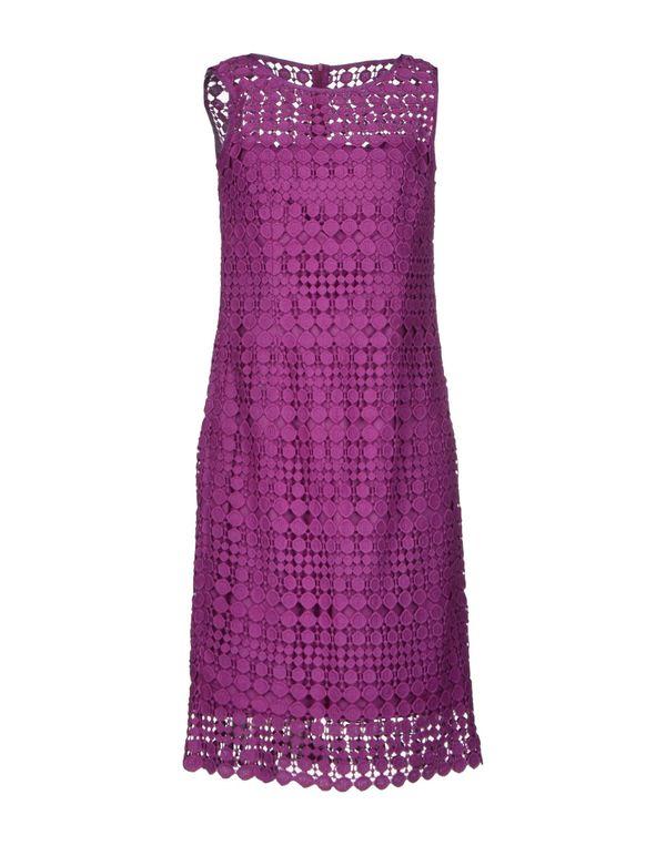 紫红 WEEKEND MAX MARA 及膝连衣裙