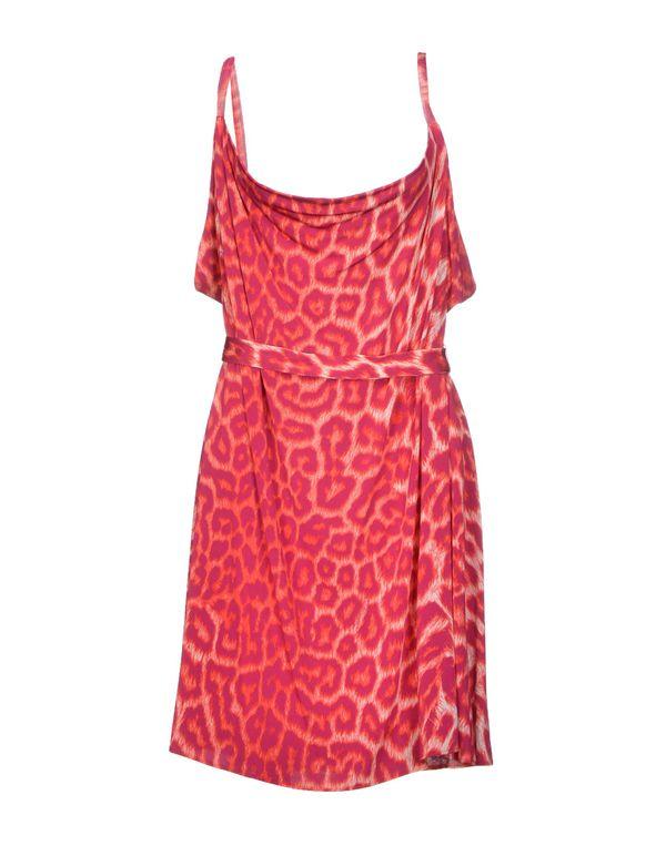 红色 JUST CAVALLI 短款连衣裙