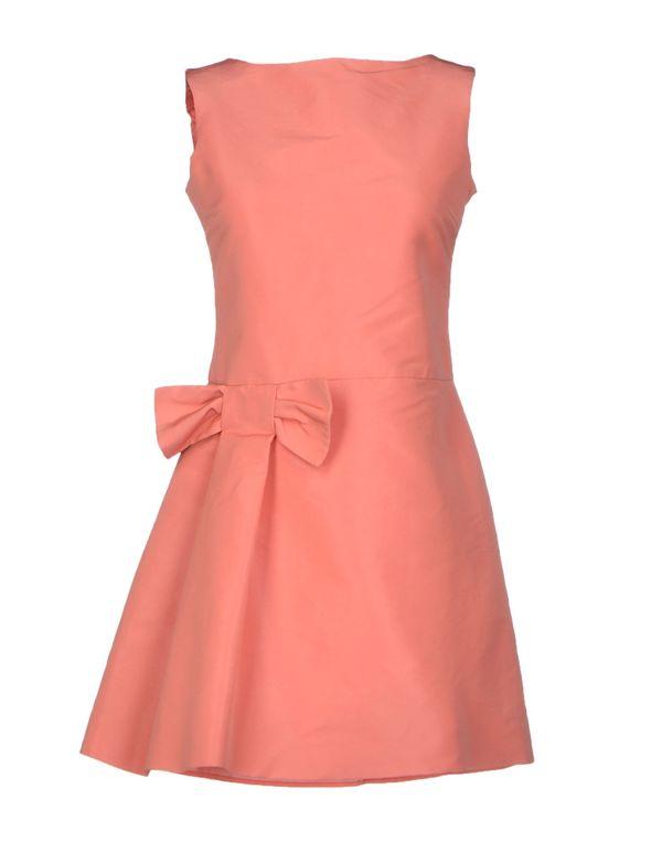 粉红色 REDVALENTINO 短款连衣裙