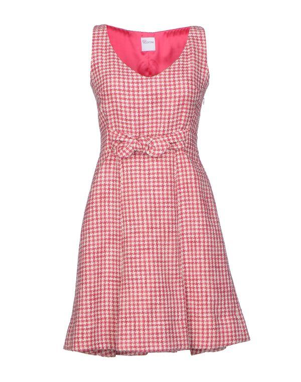 浅紫色 REDVALENTINO 短款连衣裙