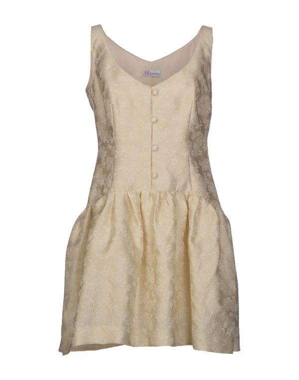 象牙白 REDVALENTINO 短款连衣裙