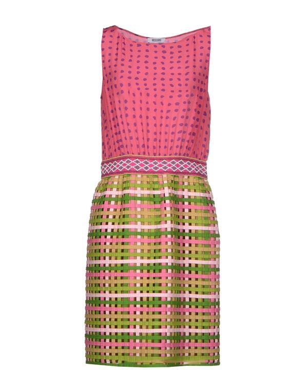 浅紫色 MOSCHINO CHEAPANDCHIC 短款连衣裙