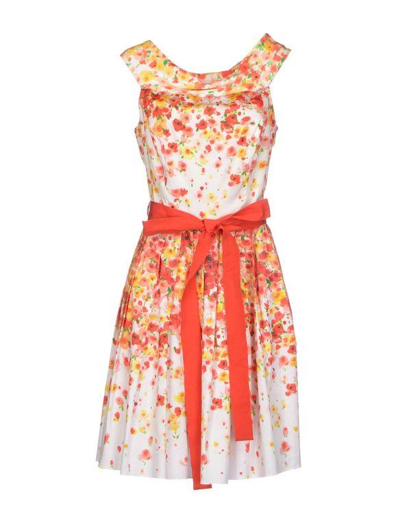 红色 BLUGIRL BLUMARINE 短款连衣裙