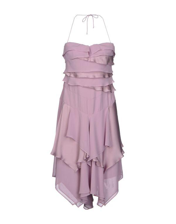 浅紫色 BLUMARINE 及膝连衣裙