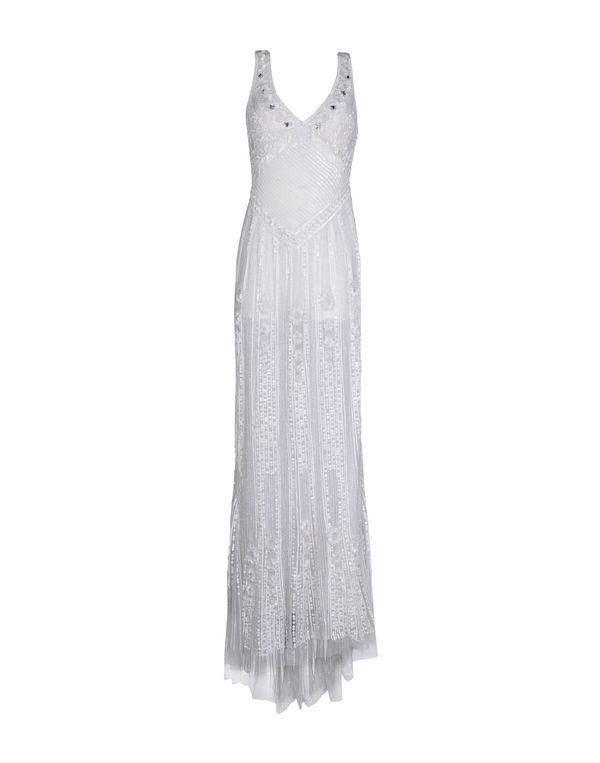 白色 BLUMARINE 长款连衣裙