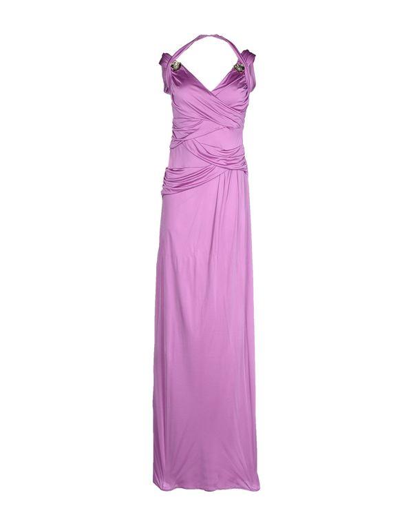 浅紫色 ROBERTO CAVALLI 长款连衣裙