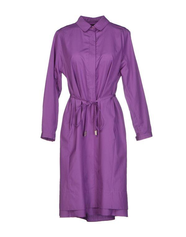 紫色 LORO PIANA 短款连衣裙