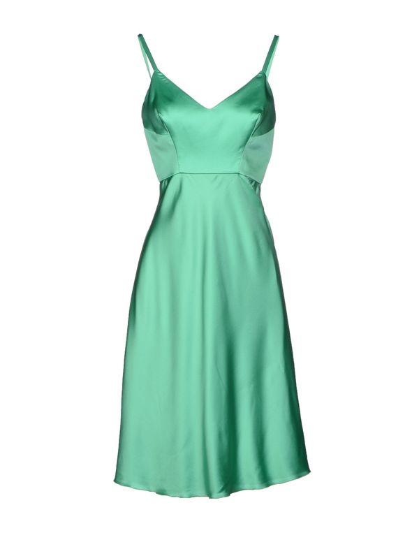 绿色 ERMANNO SCERVINO 及膝连衣裙