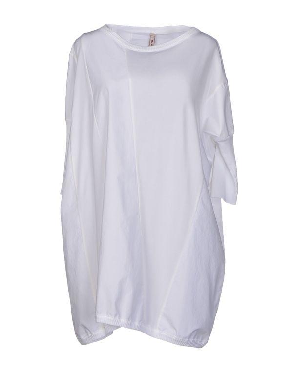 白色 ANTONIO MARRAS 短款连衣裙