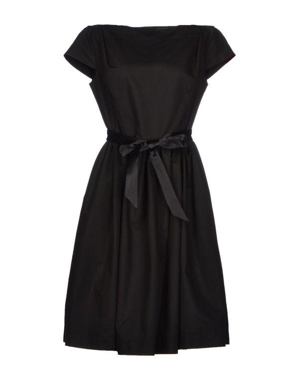 黑色 VIVIENNE WESTWOOD ANGLOMANIA 短款连衣裙