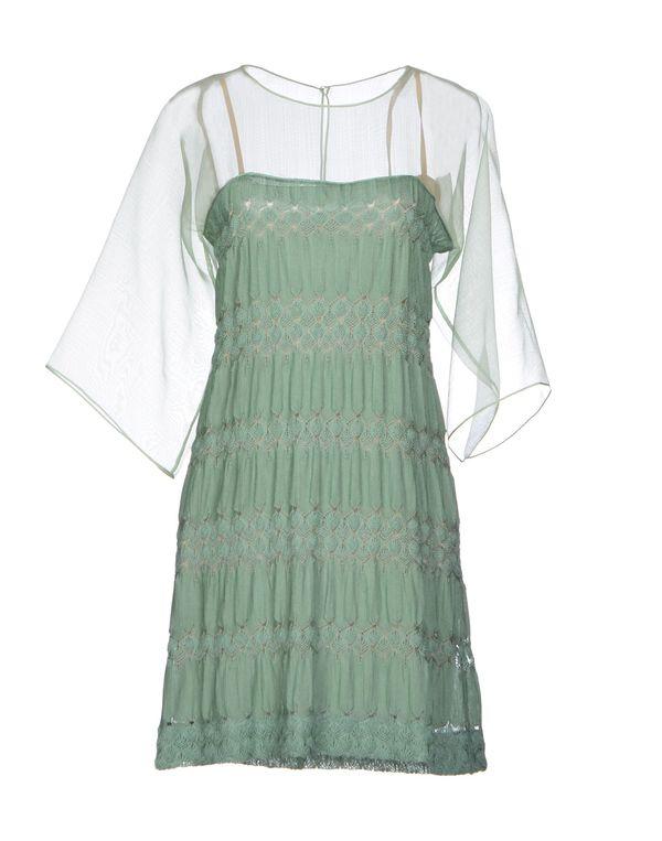 浅绿色 MISSONI 短款连衣裙