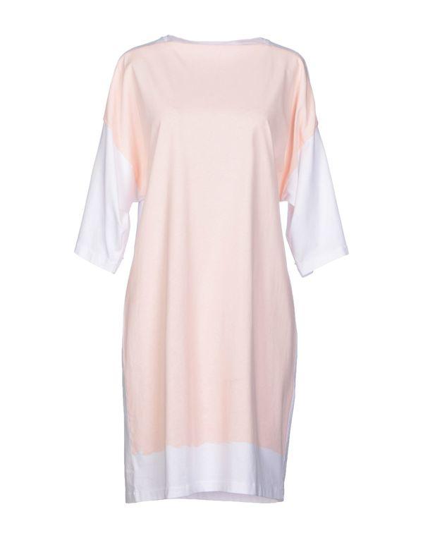 粉红色 BALENCIAGA 短款连衣裙