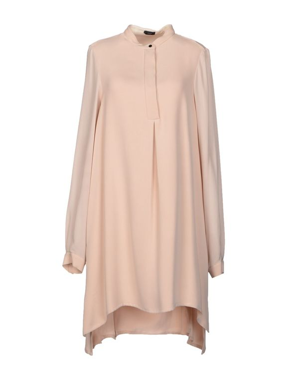 水粉红 JOSEPH 短款连衣裙