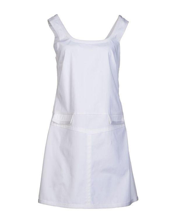 白色 M MISSONI 短款连衣裙