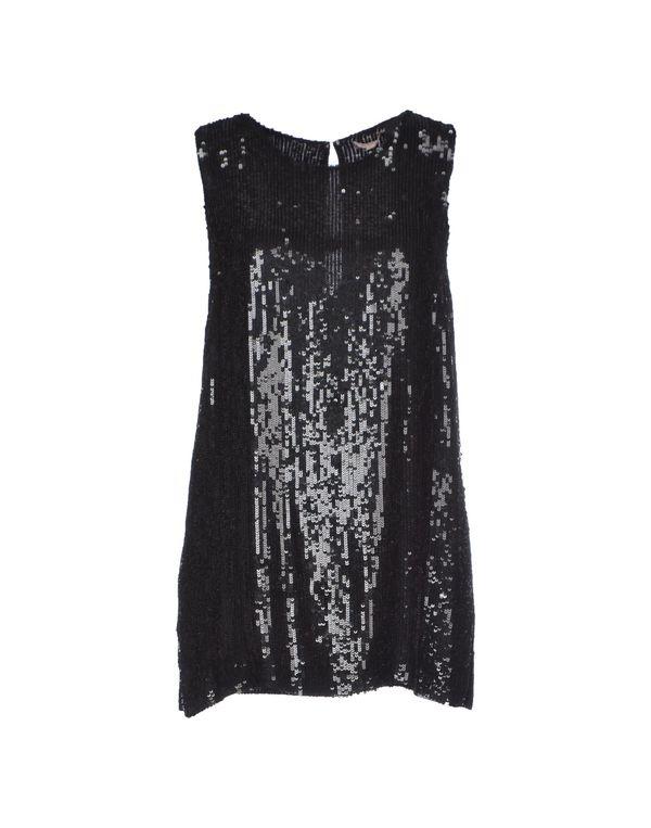 黑色 P.A.R.O.S.H. 短款连衣裙