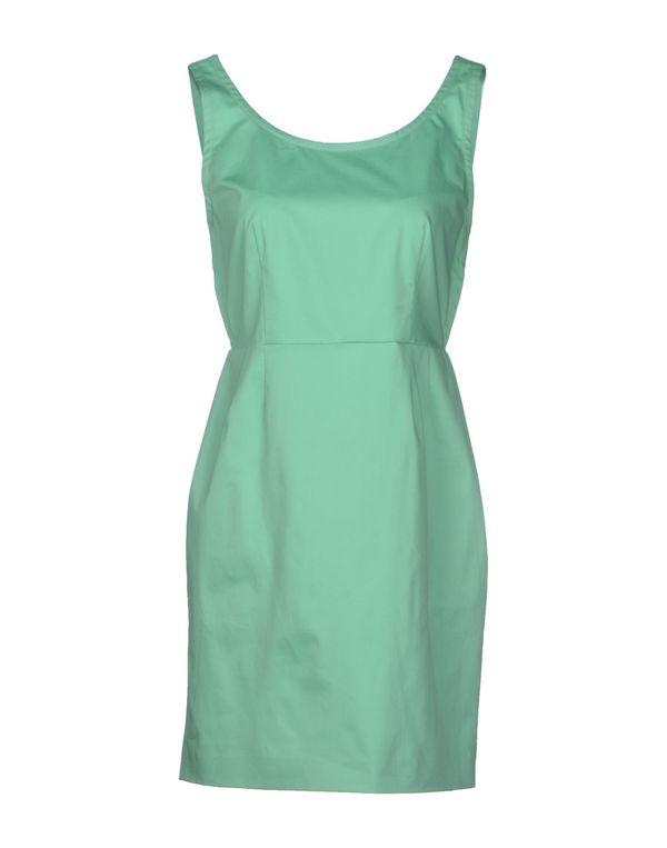 绿色 M MISSONI 短款连衣裙