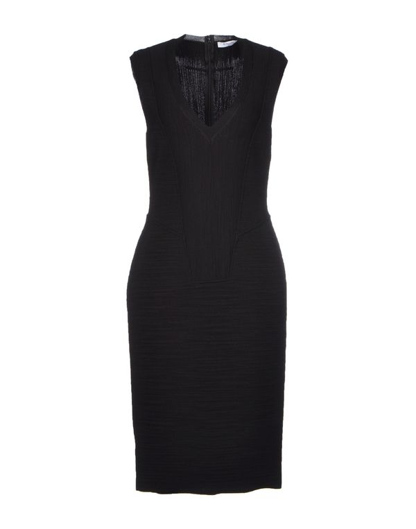 黑色 GIVENCHY 及膝连衣裙