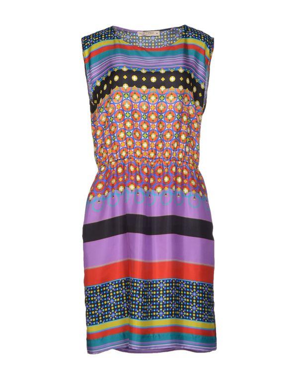 紫色 ETRO 短款连衣裙