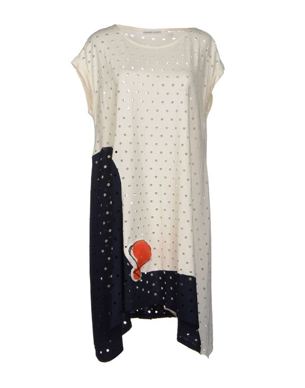 象牙白 TSUMORI CHISATO 短款连衣裙