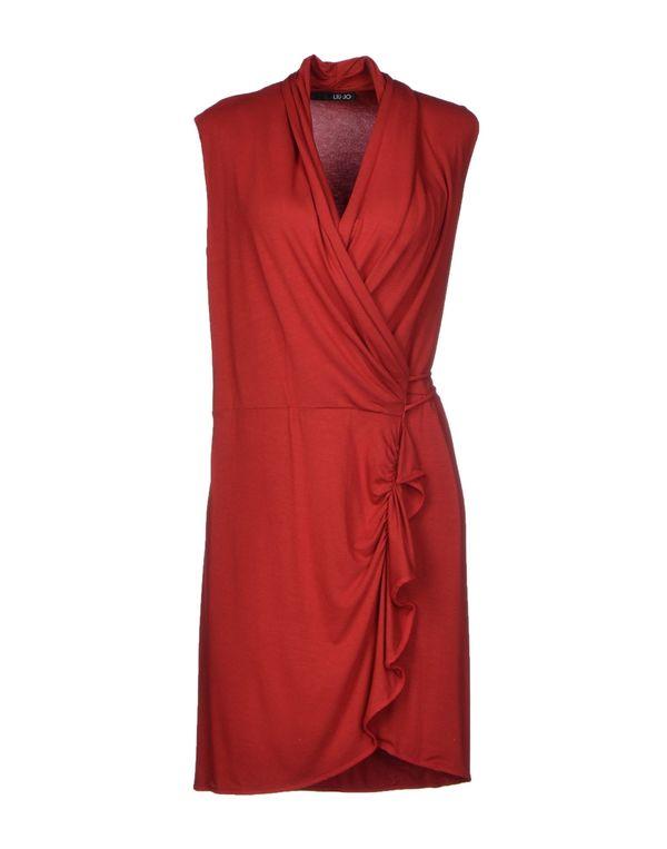 红色 LIU •JO 短款连衣裙