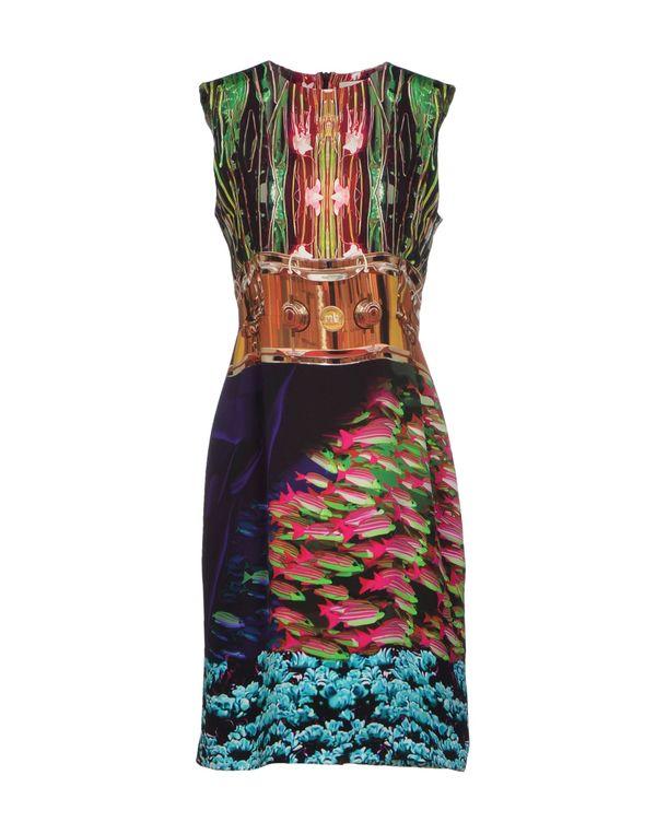 绿色 MARY KATRANTZOU 短款连衣裙