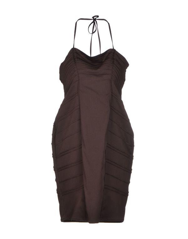 深棕色 BLUMARINE 短款连衣裙