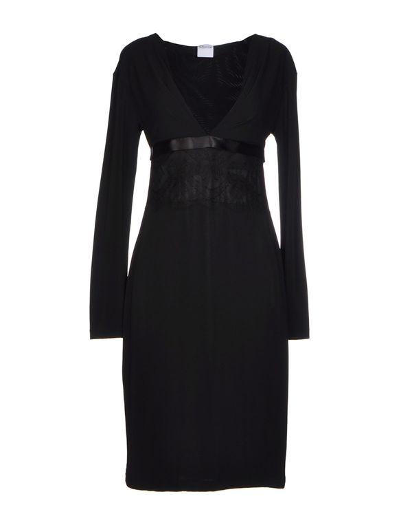 黑色 REDVALENTINO 短款连衣裙