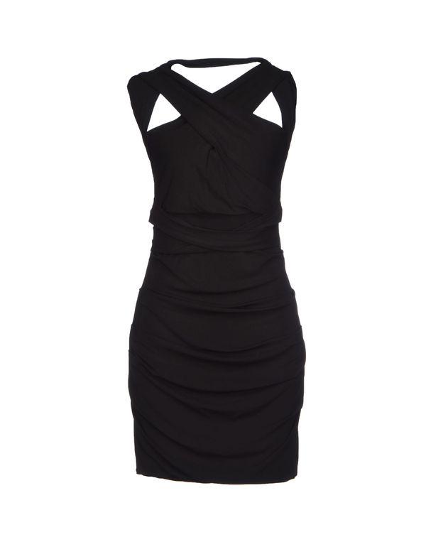 黑色 PLEIN SUD 短款连衣裙
