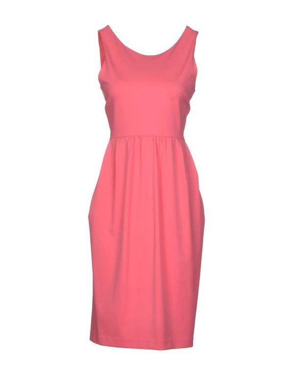粉红色 P.A.R.O.S.H. 及膝连衣裙