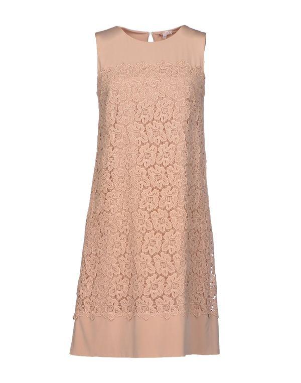 裸色 P.A.R.O.S.H. 短款连衣裙