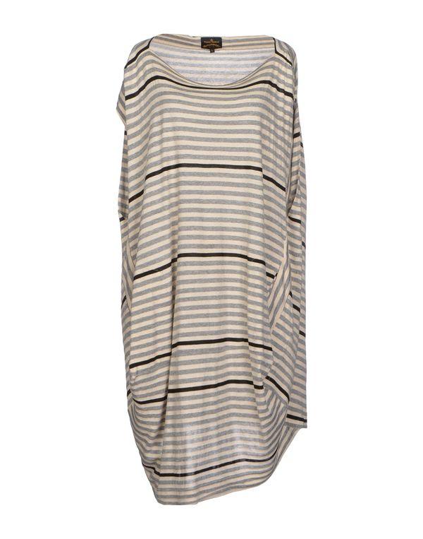 灰色 VIVIENNE WESTWOOD ANGLOMANIA 短款连衣裙