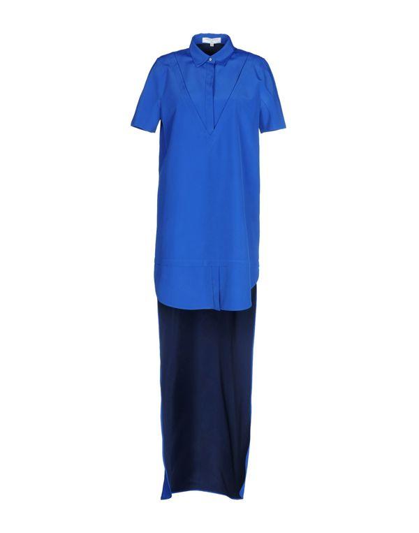 蓝色 VIKTOR & ROLF 短款连衣裙