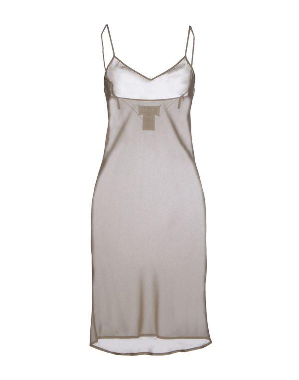 军绿色 MAISON MARTIN MARGIELA 4 短款连衣裙