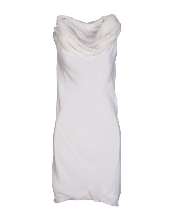 白色 GARETH PUGH 短款连衣裙