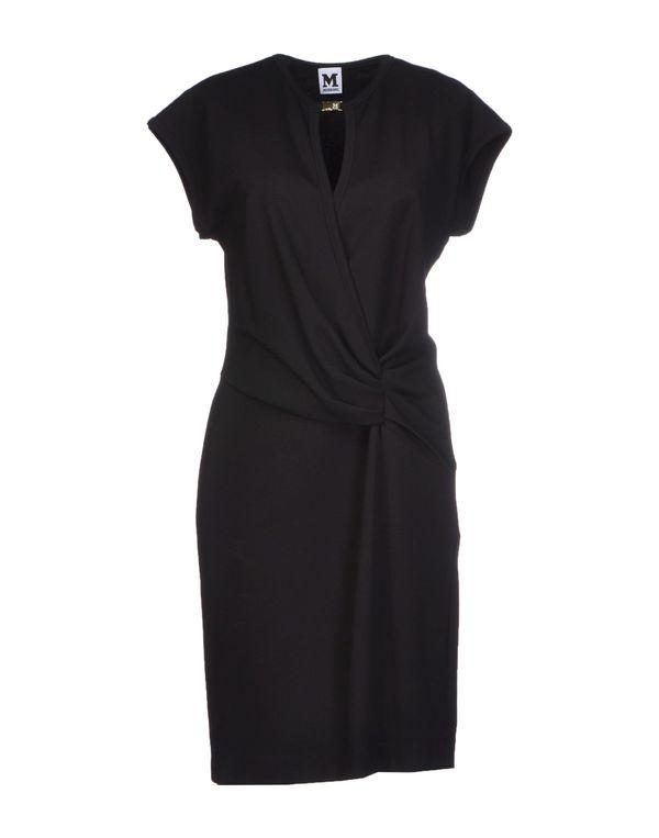 黑色 M MISSONI 短款连衣裙