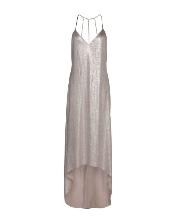 银色 ALICE+OLIVIA 长款连衣裙