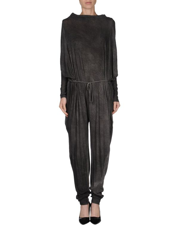 铅灰色 LEMURIA 连身长裤