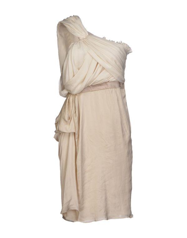 象牙白 LANVIN 及膝连衣裙