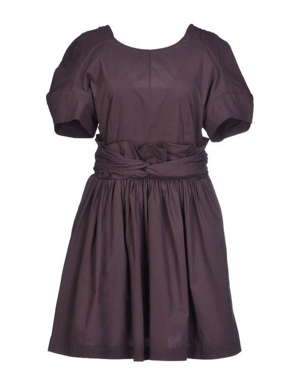深紫 MSGM 短款连衣裙