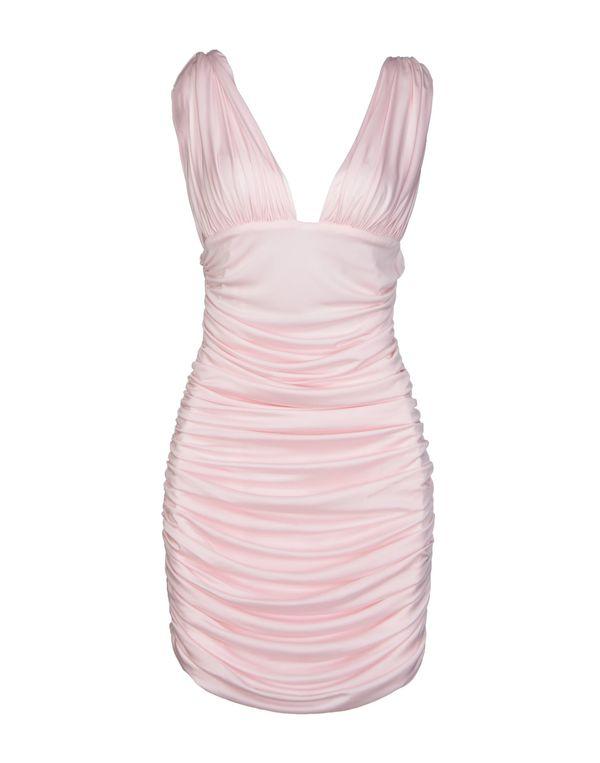 浅粉色 BALMAIN 短款连衣裙