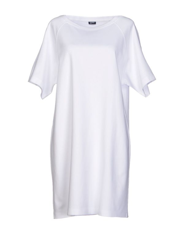 白色 JIL SANDER NAVY 短款连衣裙